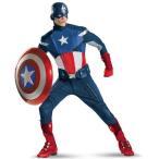 ハロウィン キャプテンアメリカ コスチューム コスプレ 衣装 大人 劇場版 スーツ アベンジャーズ キャラクター