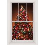 クリスマス パーティー 飾り グッズ クリスマスツリー 窓飾り