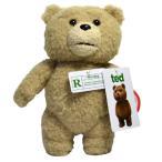 TED ぬいぐるみ 実物大 テッド グッズ しゃべる 話す 20cm(8inch) R指定版 テディベア 動物 くま クマ 人形 映画 キャラクター おもちゃ TED2