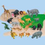 動物 フィギュア アニマル 教材 知育玩具 18体セット