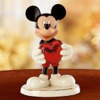 ホワイトデー ギフト 贈り物 ディズニー ガーデニング LENOX(レノックス)社製 ミッキーマウス ハートを持つ フィギュア 陶磁器 24金