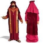 アラビアンコスチュームサルタントルコ皇帝アラブ王様ナイト衣装大人用ハロウィンコスプレ仮装