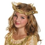 ハロウィンマレフィセントコスチューム仮装ディズニー眠れる森の美女グッズプリンセスオーロラ姫冠位式ヘッドピース子供用