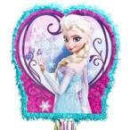アナと雪の女王 グッズ エルサ アナ  ピニャータ くす玉 誕生日 パーティー 48cm x 45cm ディズニー プリンセス