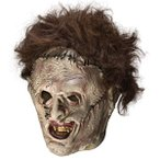 テキサス チェーンソー 悪魔のいけにえ レザーフェイス 殺人鬼 マスク ハロウィン 小道具 用品 グッズ コスプレ ホラー 系 仮装 衣装 ハロウィーン