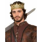 ショッピングコスプレ ハロウィン 衣装 コスプレ 中世 王様 王子様 王冠 2色展開