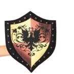 ハロウィン衣装コスプレグッズ中世スタッズの付いた女性向けの盾