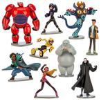 ディズニー ベイマックス グッズ おもちゃ 人形 フィギュア 9体セット