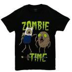 アドベンチャータイム ゾンビタイム Tシャツ 男性用 ハロウィン コスプレ コスチューム 衣装画像
