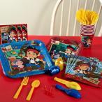 ハロウィン パーティー セット ジェイクとネバーランドのかいぞくたち 8人用 スタンダードセット 紙コップ 紙皿 誕生日 誕生会 ピクニック BBQ バーベキュー