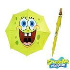 スポンジボブ スクエアパンツ キャラクター アニメ パーティグッズ イベント スポンジボブの傘 子供用 アンブレラ 日傘 あすつく