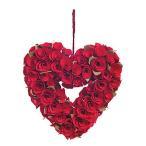 ショッピングバレンタイン 【母の日早期】 母の日 ギフト バレンタイン 結婚式 装飾 デコレーション プレゼント お花 造花 ハート バラ リース