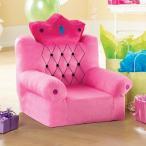 プリンセスの椅子 ピンク ソファ 子供用 インテリア 家具 フ…