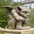 ハロウィンデコレーション守護神魔除けエメットのガーゴイル彫像置物ガーデンインテリアハロウィンデコレーション装飾飾りグッズ