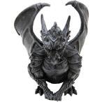 ハロウィンデコレーション守護神魔除け中世の翼のあるドラゴンガーゴイル彫像置物ガーデンインテリアハロウィンデコレーション装飾飾りグッズ