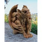 守護神魔除けバルタザールのガーゴイル彫像置物ガーデンインテリアハロウィンデコレーション装飾飾りグッズ