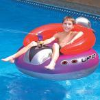 ショッピングレトロ レトロ スタイル UFO フロート 水遊び 水鉄砲 付き 遊具 浮き輪 プール 海