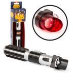 ライトセーバー おもちゃ フラッシュライト LEDライト 懐中電灯 ダースベイダー 赤 スターウォーズ グッズ ライトセイバー ライトアップ サウンド機能付