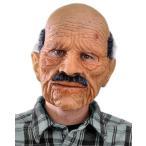 ハロウィン リアル 人面 マスク お年寄り 男性 おじいさん 大人用 かぶりもの 被り物 仮面 魔女 コスプレ 変装 仮装 グッズ