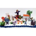 ケーキトッパー ケーキピック 飾り ズートピア ディズニー 手作り ケーキ デコレーション