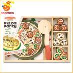 メリッサアンドダグ ままごとキッチン 木のおままごと ピザ ままごとセット プレイセット おままごと ごっこ遊び ごっこ遊びトイ 料理 知育玩具 おもちゃ