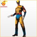 ハロウィン X-MEN X-メン ウルヴァリン コスプレ コスチューム 大人 男性用 映画 キャラクター アメコミ ヒーロー マーベル 仮装 衣装