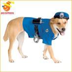 犬 コスプレ 警察官 衣装 ポリス ペット Sサイズ コスチューム 年賀状 戌年