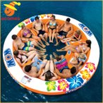 12人用 大型 おもしろい 浮き輪 うきわ 複数 家族 友達 グループ ペア 大きい ボート フロート パーティ グッズ スタジタムアイランダーラウンジ 面白い浮き輪