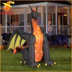 インフレータブルバルーンエアブロー人形ドラゴンファイヤードラゴンアイスドラゴン竜龍エアーブローエアバルーンハロウィン装飾