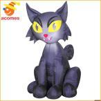インフレータブルバルーンエアブロー人形猫黒猫ねこ恐怖の猫エアーブローエアバルーンインフレータブル恐怖ハロウィンデコレーション装飾飾り