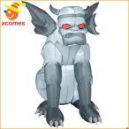 インフレータブルバルーンエアブロー人形ガーゴイル怪物グレイ灰色エアーブローエアバルーンインフレータブルハロウィングッズデコレーション