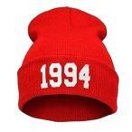 ハロウィン ジャスティン ビーバー グッズ 1994 ニット キャップ 帽子 レッド