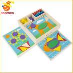 ショッピングメリッサ メリッサ&ダグ おもちゃ パズル 幼児 パターンブロック