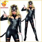 キャット ウーマン コスプレ 大人 ハロウィン 衣装 イベント パーティー バットマン セクシー 猫 女