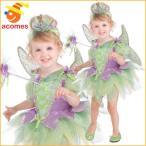 ディズニー ティンカーベル 妖精 フェアリー 子供 女の子 チュチュ ドレス コスチューム ピーターパン ハロウィン コスプレ 衣装