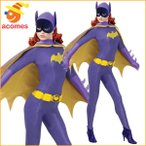 バットマン バットガール コスプレ コスチューム 女性用 大人用 スーパーヒーロー テレビシリーズ クラシック ハロウィン 仮装 衣装
