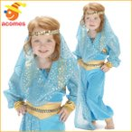 アラビア プリンセス コスプレ 衣装 ハロウィン 幼児用 コスチューム ベリーダンス イベント パーティー かわいい魔女ジニー お人形 おそろい 服