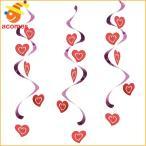 バレンタインデー 吊り飾り ハート ハンギング デコレーション 結婚 パーティー 記念日
