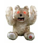 怖い 人形 いないいないばぁをする くま ぬいぐるみ 動物 ホラー インテリア 置物 ハロウィン デコレーション 飾り 装飾