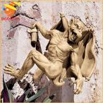 ガーゴイル飾りLサイズゴシックデコレーションハロウィンイベントパーティーファンタジー魔除け守護