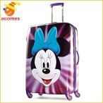 ミニー マウス キャリー バッグ アメリカンツーリスター 旅行 かばん ハードサイド スピナー28 スーツケース ギフト