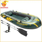 インテックス シーホーク4 インフレータブル ボート セット 湖 川 遊び 釣り