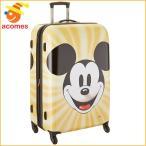 ミッキー マウス スーツケース アメリカンツーリスター ディズニー ミッキーフェイス ハードサイド スピナー 28 旅行 かばん 71cm