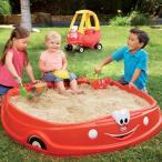 リトルタイクス コージクーペ 砂場 砂遊び 庭 屋外 ベランダ おもちゃ 子供 Little Tikes Cozy Coupe Sandbox 海外 遊具 玩具