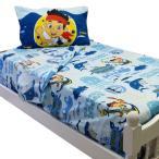 ジェイクとネバーランドのかいぞくたち インテリア グッズ 寝具 ベッドシーツ セット シングル ツイン 子供部屋 ディズニー
