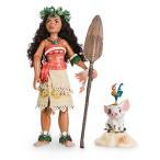 モアナと伝説の海 フィギュア 人形 ドール 島娘 ヘイヘイ プア ディズニー 海外版 おもちゃ