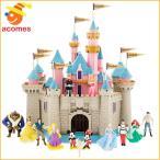 ディズニー 眠れる森の美女 城 プレイ セット 子供 おもちゃ 13 人形 ギフト プレゼント