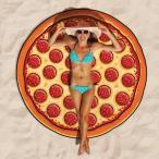 Yahoo!アカムスYahoo!店ビーチ レジャーシート ピザ 海外 面白い ビーチブランケット プール 海 グッズ