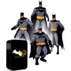 バットマン アクション フィギュア 75周年 4体 セット 海外 おもちゃ アメコミ DCコミックス ヒーロー 人形