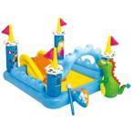 家庭用 ビニールプール 人気 大型遊具 ファンタジー城 INTEX